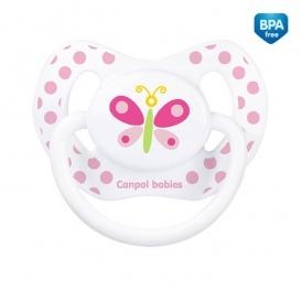 Cumlík Canpol Babies 6-18 B, SUMMER TIME motýlik