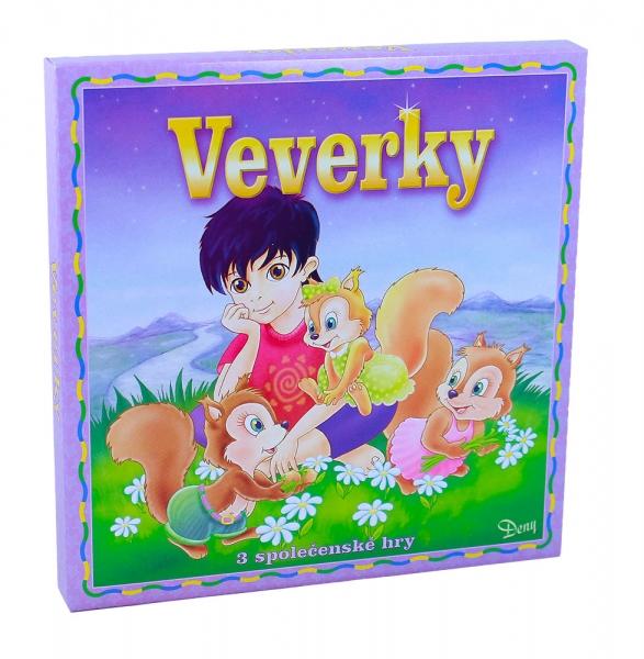 Hra Veveričky