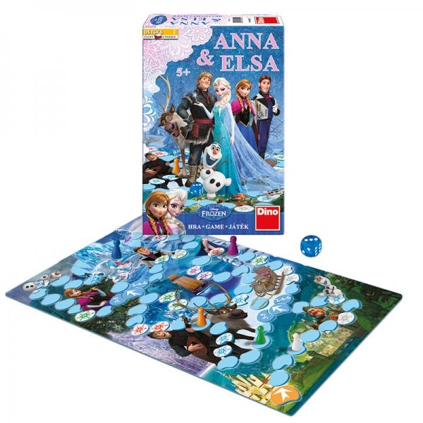 Hra Anna & Elsa FROZEN-Ľadové kráľovstvo