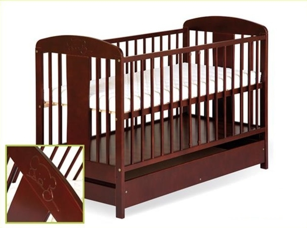 Detská posteľ Radek VIII s motívom medvedíka + šuplík, 140x70