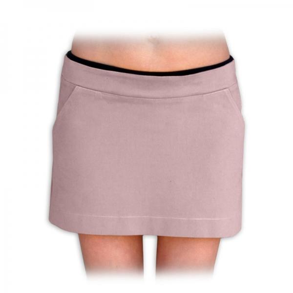 Tehotenské sukne nielen pre tehotné denim - béžová