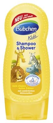 Bübchen detský šampón a sprchový gél Safari - 230ml