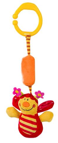 Závesná hračka Baby Ono - LIENKA so zvukom rolničky