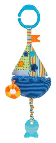 Závesná hračka so zvukom vody - Lodička