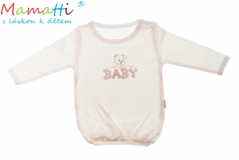 Bavlnené tričko Mamatti -Baby, 68 (4-6m)
