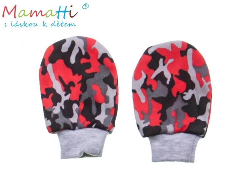 Dojčenské rukavičky Mamatti - ARMY