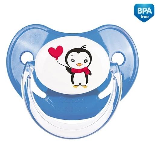Cumlík Canpol Babies 0-6m - Tučniak modrý