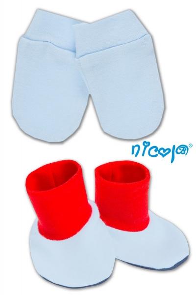 Sada - rukavičky s topánočkami NICOL - Tigrík