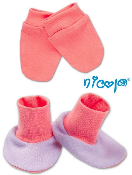 Sada - rukavičky s topánočkami NICOL - Veselá veverička