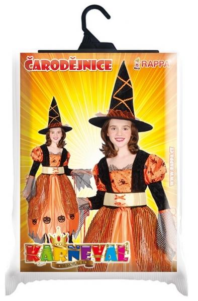 Rappa Karnevalový kostým čarodejnice Halloweenska, veľ. S