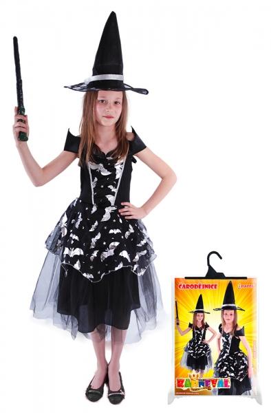 Karnevalový kostým čarodejnica