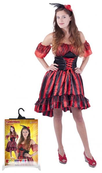 Rappa Karnevalový kostým tanečnice Sally, dospelý, veľ. M