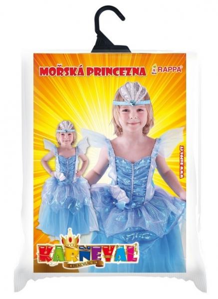 Rappa Karnevalový kostým morská princezná, veľ. M