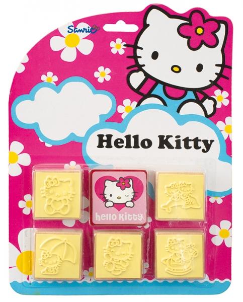 Pečiatky 5 + 1 Hello Kitty