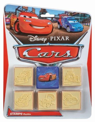 Pečiatky 5 + 1 CARS - Autá