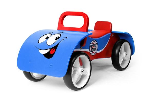 Odrážadlo Milly Mally Junior AUTO - modré