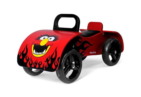Odrážadlo Milly Mally Junior AUTO - červené