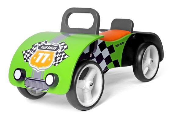 Odrážadlo Milly Mally Junior AUTO - zelené