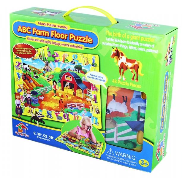 Rappa Puzzle 48 podlahové - zvieratá