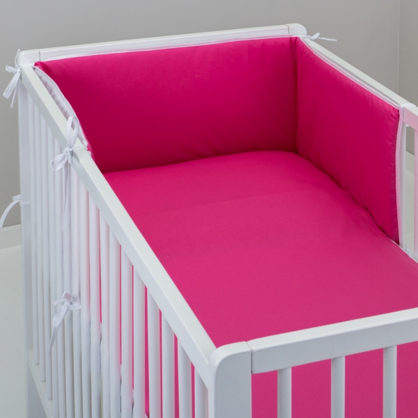Mantinel s obliečkami - Ružový