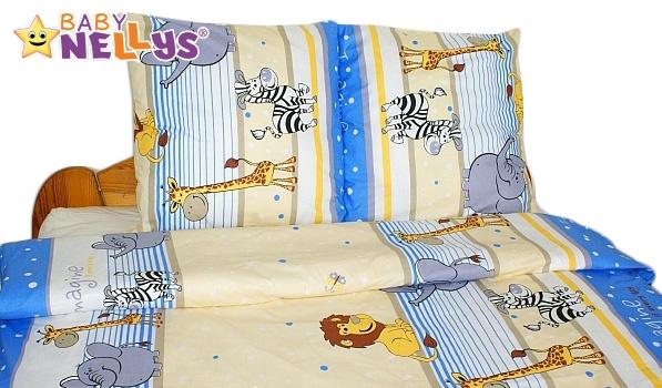 Bavlnené obliečky 140x200 - Saraf v modrej