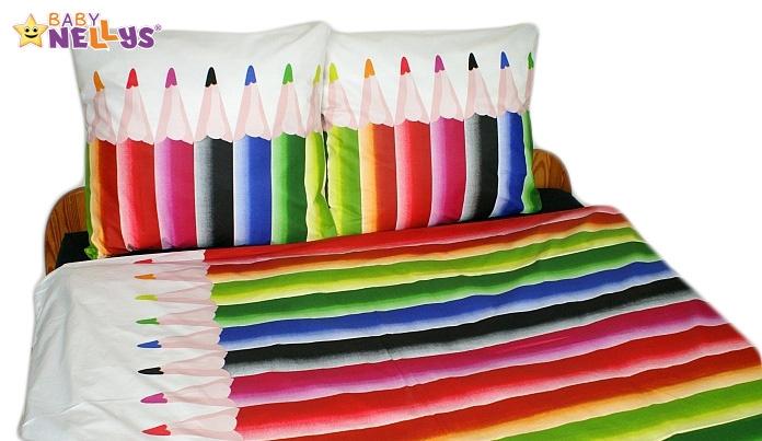 Bavlnené obliečky 140x200 - Pastelky