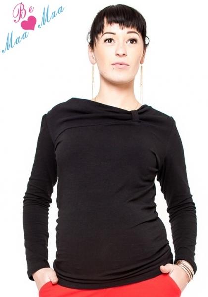 f2497d895b7e Tehotenské tričko dl. rukáv Vanessa - čierne empty