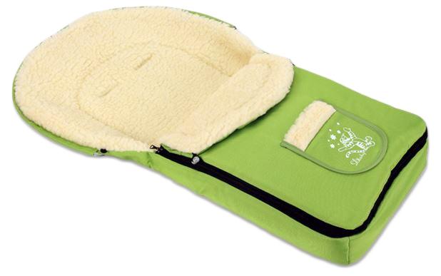 Multifunkčný fusak VLNA 4v1 Baby Nellys ® - zelený
