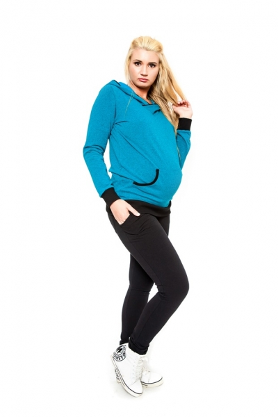 Tehotenské nohavice  Be MaaMaa - KALI čierne