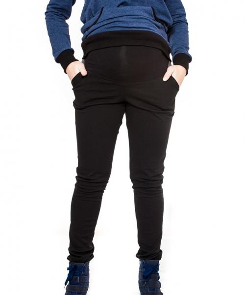 Tehotenské nohavice Be MaaMaa - NINA čierna