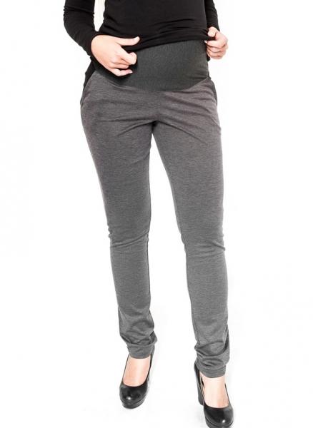 Tehotenské nohavice Be Maamaa - NINA sivá