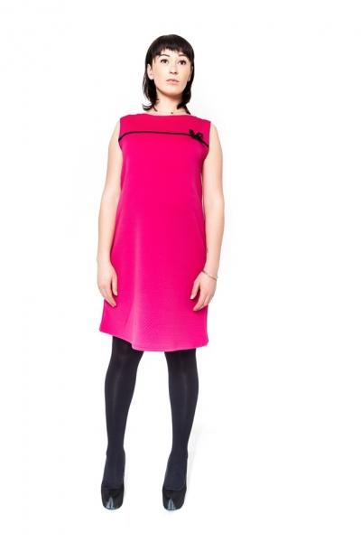 Tehotenské šaty / tunika DIOR - amarant