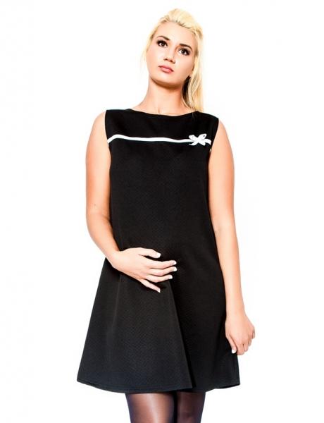 Tehotenské šaty / tunika DIOR - čierne
