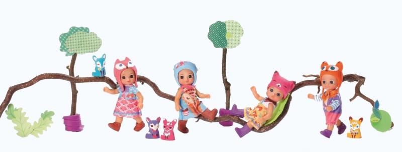 Chou Chou bábika mini Líštičky