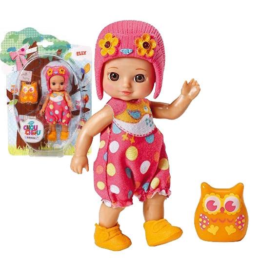 Chou Chou bábika mini sovička - ELLY