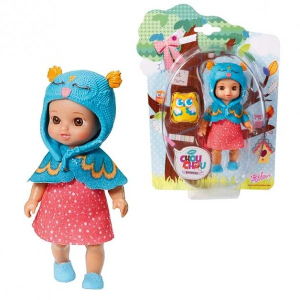Chou Chou bábika mini sovička - FLORY
