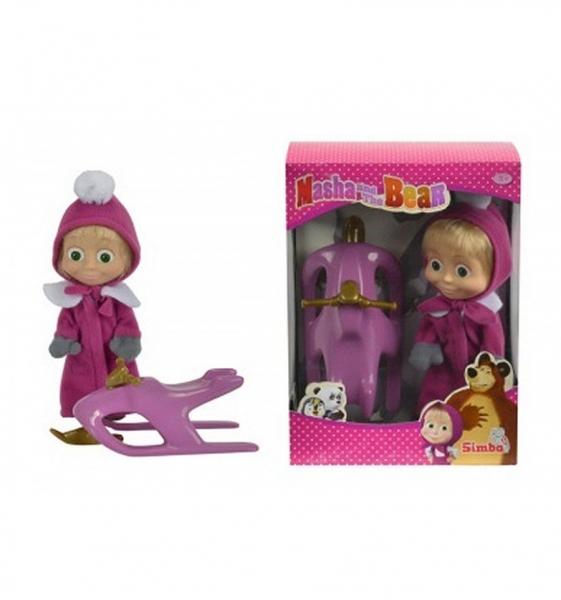 Bábika Máša a snežný skúter - Máša a medveď