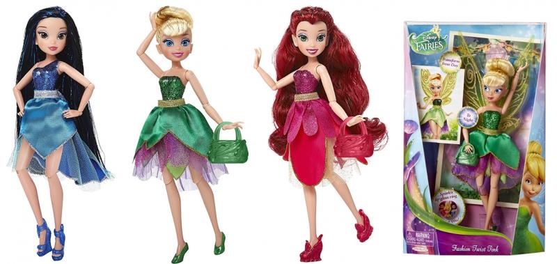 Bábika Disney Fairies-Víly, DELUXE, 22 cm