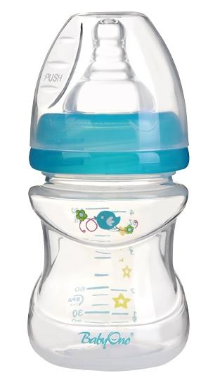 Antikoliková fľaštička Baby Ono - modrá