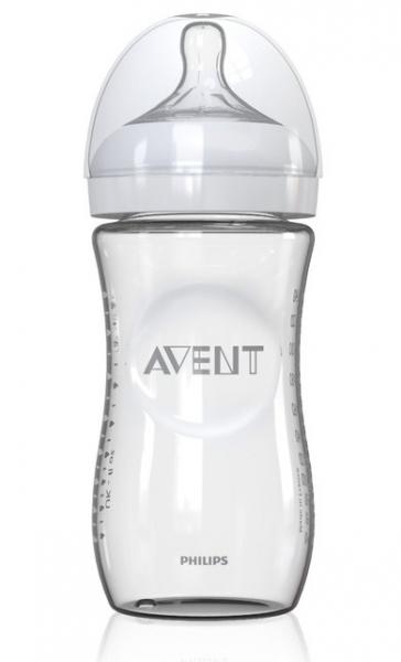 Sklenená fľaštička AVENT - 240ml
