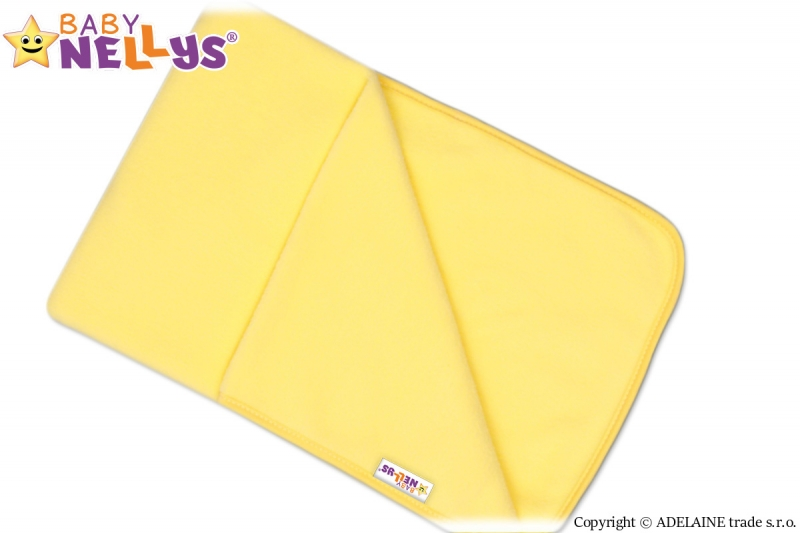 Deka / dečka polar Feel Baby Nellys ® - žltá