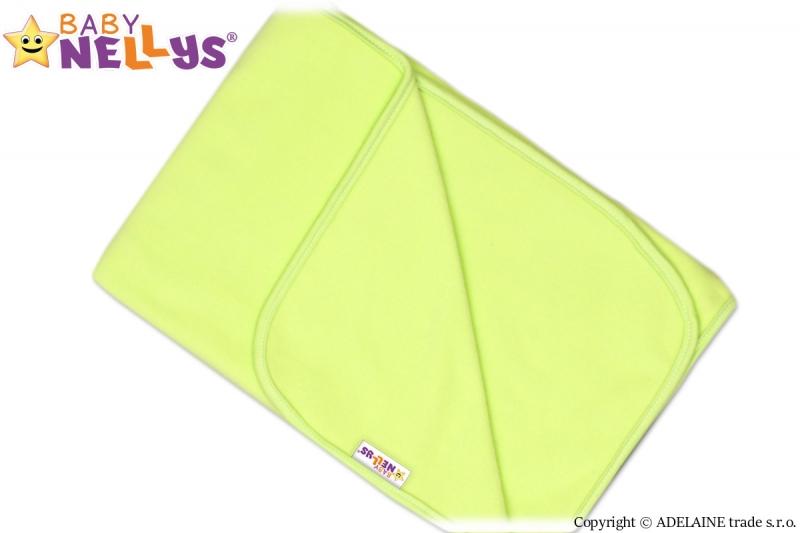 Deka / dečka polar Feel Baby Nellys ® - zelená