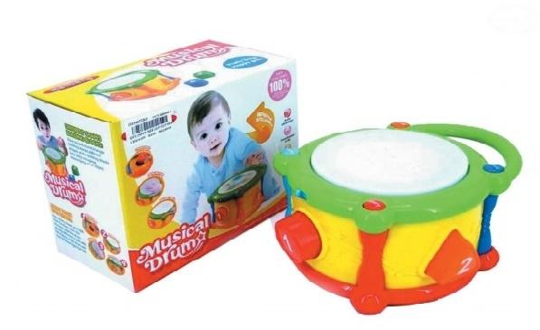 Euro Baby Interaktívna hračka s melódiu - Bubienok