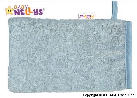 Bambusová žinka Baby Nellys ® - sv. modrá
