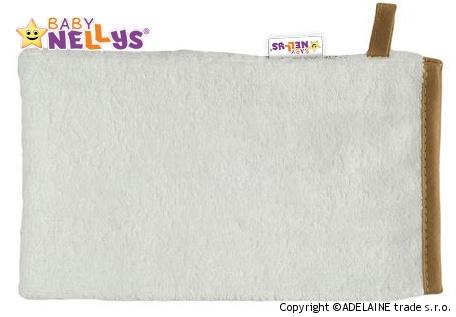 Bambusová žinka Baby Nellys ® - biela