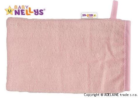 Bambusová žinka Baby Nellys ® - sv. ružová