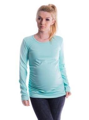 Tehotenské tričko ELLIS - mäta, L/XL