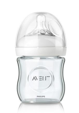 Sklenená fľaštička AVENT - 120ml
