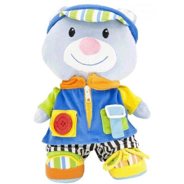 Euro Baby Edukačná hračka - MACKO Tomik