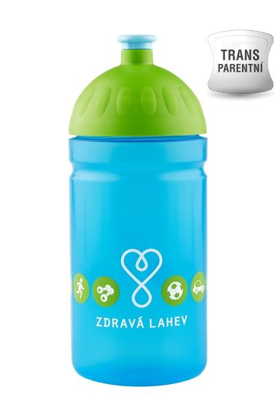 Zdravá fľaša - 0.5l - LOGO modrá - Limitovaná edícia
